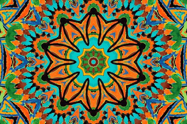 曼荼羅アートのイメージ画像