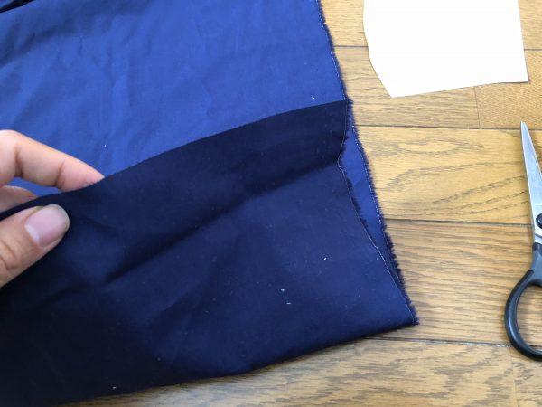 マスクの作り方ー型紙で布を切る準備